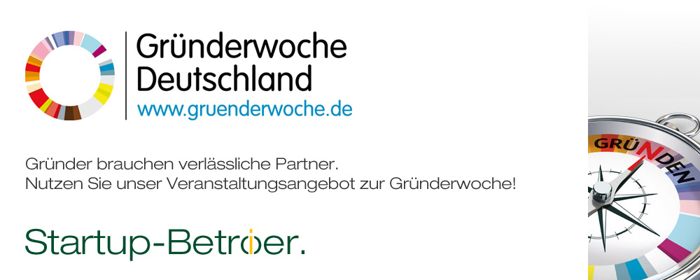 Troike Partner Gründerwoche 2018