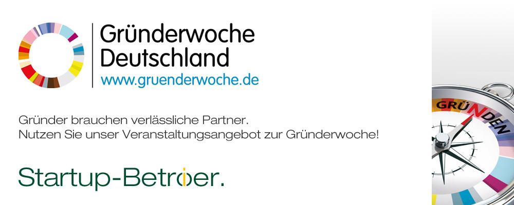Troike Partner Gründerwoche 2017