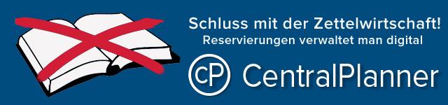 Online-Reservierungssystem CentralPlanner